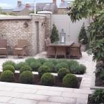 landscaped period garden