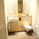 Plywood vanity unit
